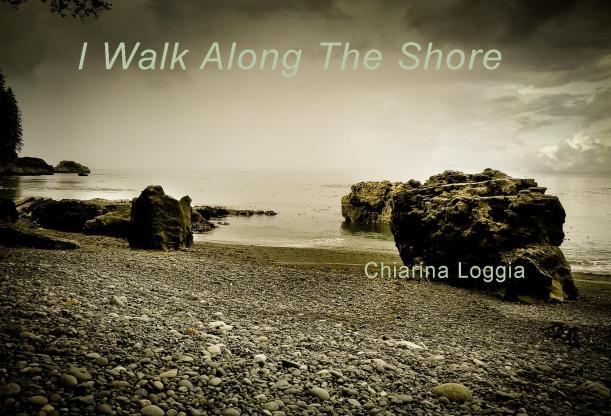 I walk along the shore